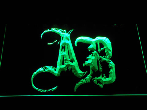 Alter Bridge Initials LED Neon Sign - Green - SafeSpecial