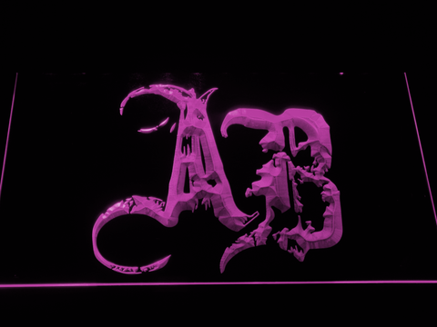 Alter Bridge Initials LED Neon Sign - Purple - SafeSpecial