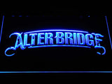 Alter Bridge LED Neon Sign - Blue - SafeSpecial