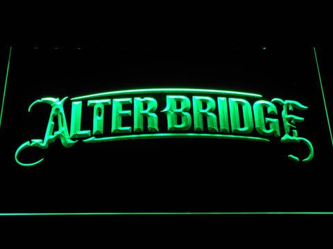 Alter Bridge LED Neon Sign - Green - SafeSpecial