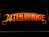 Alter Bridge LED Neon Sign - Orange - SafeSpecial