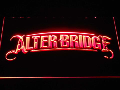 Alter Bridge LED Neon Sign - Red - SafeSpecial
