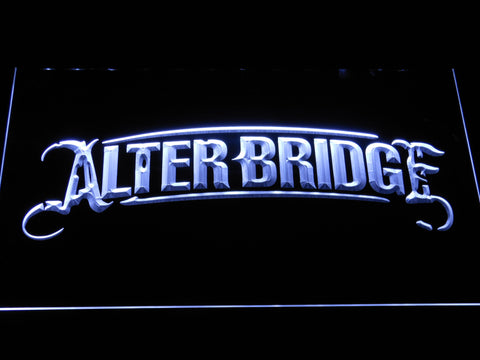 Alter Bridge LED Neon Sign - White - SafeSpecial