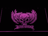 Alter Bridge Skull LED Neon Sign - Purple - SafeSpecial