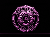 American Legion LED Neon Sign - Purple - SafeSpecial