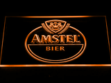 Amstel Bier LED Neon Sign - Orange - SafeSpecial