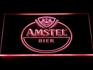 Amstel Bier LED Neon Sign - Red - SafeSpecial