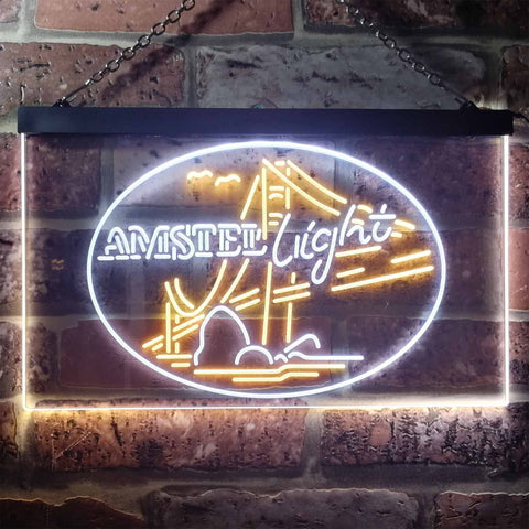 Image of Amstel Light - Bridge Neon-Like LED Sign - Dual Color