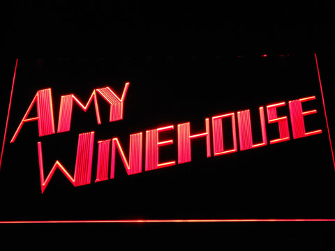 Amy Winehouse LED Neon Sign - Red - SafeSpecial