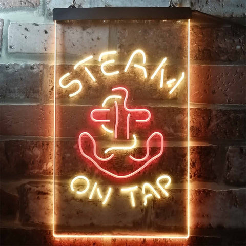 Anchor Steam Beer - Anchor Neon-Like LED Sign - Dual Color