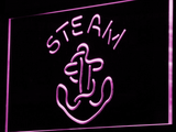 Anchor Steam LED Neon Sign - Purple - SafeSpecial