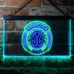 Antartica Pilsen Penguin Logo Neon-Like LED Sign - Dual Color