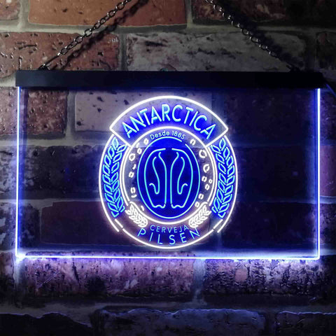 Image of Antartica Pilsen Penguin Logo Neon-Like LED Sign - Dual Color