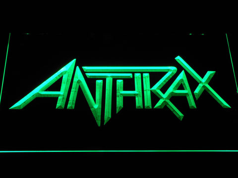 Anthrax LED Neon Sign - Green - SafeSpecial