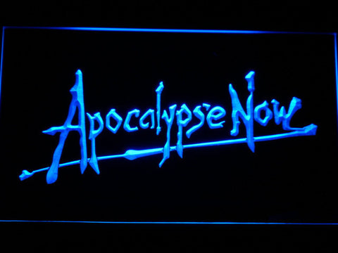 Apocalypse Now LED Neon Sign - Blue - SafeSpecial