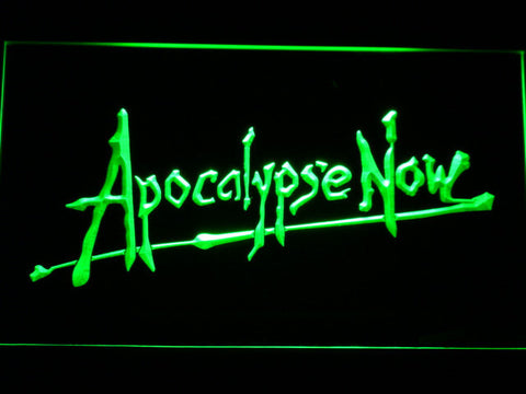 Apocalypse Now LED Neon Sign - Green - SafeSpecial