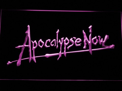 Apocalypse Now LED Neon Sign - Purple - SafeSpecial