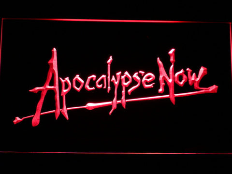 Apocalypse Now LED Neon Sign - Red - SafeSpecial