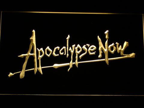 Apocalypse Now LED Neon Sign - Yellow - SafeSpecial