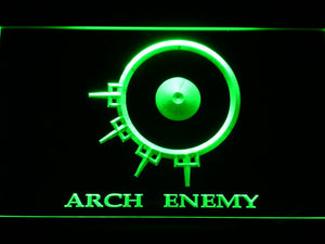 Arch Enemy LED Neon Sign - Green - SafeSpecial