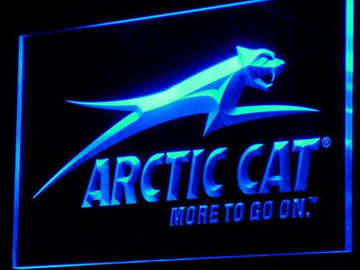Arctic Cat All Terrain LED Neon Sign - Blue - SafeSpecial