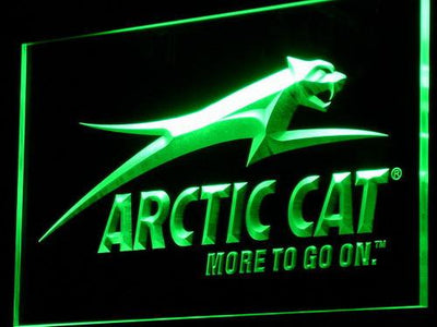 Arctic Cat All Terrain LED Neon Sign - Green - SafeSpecial