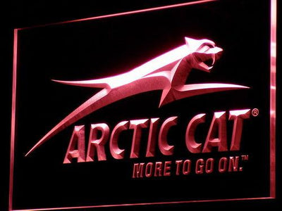 Arctic Cat All Terrain LED Neon Sign - Red - SafeSpecial