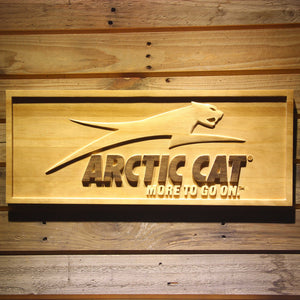 Arctic Cat All Terrain Wooden Sign - Small - SafeSpecial