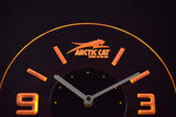 Arctic Cat Modern LED Neon Wall Clock - Yellow - SafeSpecial