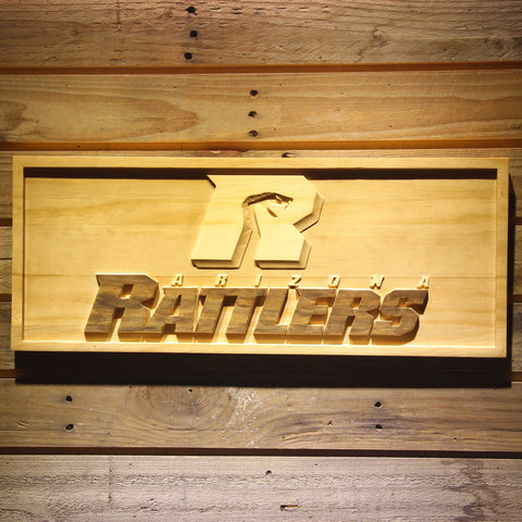 Arizona Rattlers Wooden Sign - Small - SafeSpecial