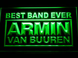Armin Van Buuren Best Band Ever LED Neon Sign - Green - SafeSpecial