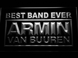 Armin Van Buuren Best Band Ever LED Neon Sign - White - SafeSpecial