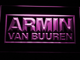 Armin Van Buuren LED Neon Sign - Purple - SafeSpecial