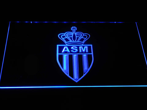 AS Monaco FC LED Neon Sign - Blue - SafeSpecial