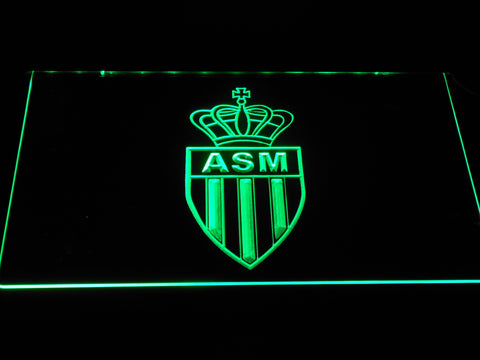AS Monaco FC LED Neon Sign - Green - SafeSpecial