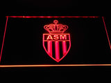 AS Monaco FC LED Neon Sign - Red - SafeSpecial