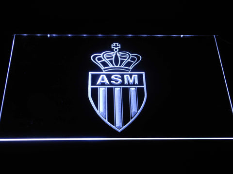 AS Monaco FC LED Neon Sign - White - SafeSpecial