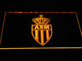 AS Monaco FC LED Neon Sign - Yellow - SafeSpecial