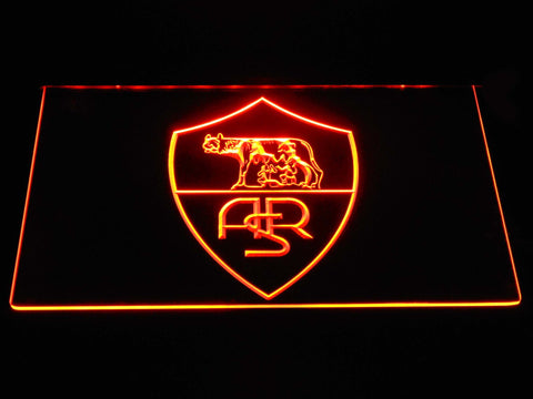 AS Roma LED Neon Sign - Legacy Edition - Orange - SafeSpecial