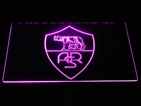 AS Roma LED Neon Sign - Legacy Edition - Purple - SafeSpecial