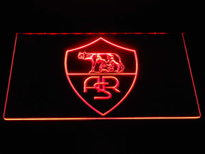AS Roma LED Neon Sign - Legacy Edition - Red - SafeSpecial