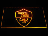 AS Roma LED Neon Sign - Legacy Edition - Yellow - SafeSpecial