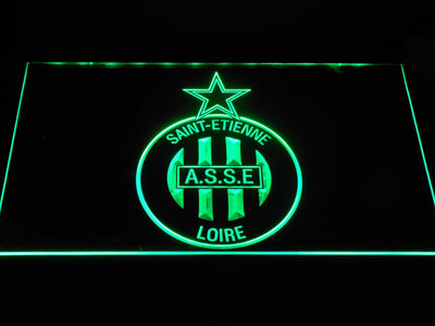 AS Saint-Etienne LED Neon Sign - Green - SafeSpecial