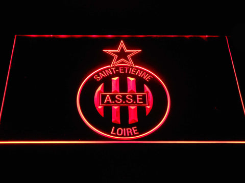 AS Saint-??tienne LED Neon Sign - Red - SafeSpecial