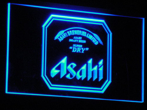 Asahi LED Neon Sign - Blue - SafeSpecial