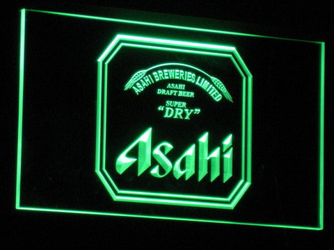 Asahi LED Neon Sign - Green - SafeSpecial