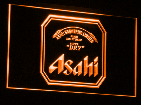 Asahi LED Neon Sign - Orange - SafeSpecial