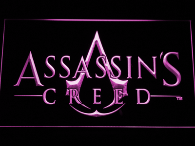Assasin's Creed LED Neon Sign - Purple - SafeSpecial