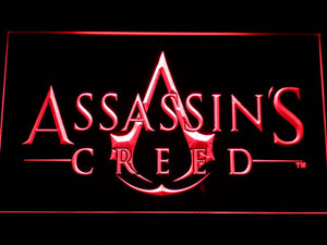Assasin's Creed LED Neon Sign - Red - SafeSpecial