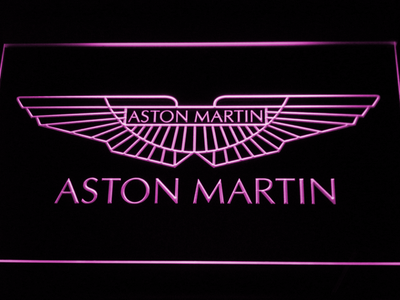 Aston Martin LED Neon Sign - Purple - SafeSpecial